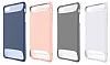 Dafoni Slim Frost iPhone 7 / 8 Ultra Koruma Beyaz Kılıf - Resim 7