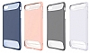 Dafoni Slim Frost iPhone 7 Ultra Koruma Pembe Kılıf - Resim 7