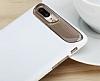 Dafoni Slim Frost iPhone 7 Plus Ultra Koruma Gri Kılıf - Resim 3