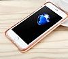 Dafoni Slim Frost iPhone 7 Plus Ultra Koruma Gri Kılıf - Resim 7