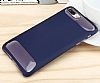 Dafoni Slim Frost iPhone 7 Plus / 8 Plus Ultra Koruma Lacivert Kılıf - Resim 2