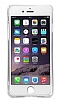 Dafoni Slim Frost iPhone 7 Ultra Koruma Beyaz Kılıf - Resim 5