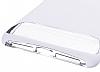 Dafoni Slim Frost iPhone 7 Ultra Koruma Beyaz Kılıf - Resim 6