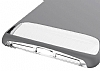 Dafoni Slim Frost iPhone 7 Ultra Koruma Gri Kılıf - Resim 5