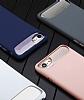 Dafoni Slim Frost iPhone 7 Ultra Koruma Gri Kılıf - Resim 1