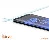 Dafoni Sony Xperia XA1 Curve Tempered Glass Premium Full Beyaz Cam Ekran Koruyucu - Resim 1