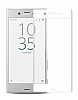 Dafoni Sony Xperia XZ Curve Tempered Full Beyaz Cam Ekran Koruyucu - Resim 6