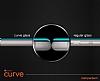 Dafoni Sony Xperia XZ Curve Tempered Full Beyaz Cam Ekran Koruyucu - Resim 2