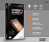 Dafoni Sony Xperia XZ1 Curve Tempered Glass Premium Full Şeffaf Cam Ekran Koruyucu - Resim 5