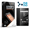 Dafoni Sony Xperia Z5 Premium Nano Glass Premium �n + Arka Cam Ekran Koruyucu