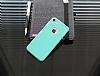 Dafoni Thin Air iPhone 7 Kamera Korumalı Yeşil Rubber Kılıf - Resim 2