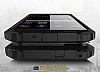 Dafoni Tough Power Huawei P10 Lite Ultra Koruma Siyah Kılıf - Resim 1