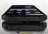 Dafoni Tough Power Huawei P10 Ultra Koruma Siyah Kılıf - Resim 3