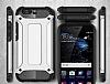 Dafoni Tough Power Huawei P10 Ultra Koruma Siyah Kılıf - Resim 1