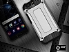 Dafoni Tough Power Huawei P10 Ultra Koruma Siyah Kılıf - Resim 4