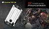 Tough Power Huawei P20 Lite Ultra Koruma Rose Gold Kılıf - Resim 1