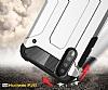 Tough Power Huawei P20 Pro Ultra Koruma Siyah Kılıf - Resim 1