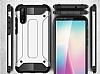 Tough Power Huawei P20 Pro Ultra Koruma Siyah Kılıf - Resim 2