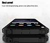 Dafoni Tough Power Huawei P9 Lite 2017 Ultra Koruma Rose Gold Kılıf - Resim 1