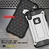 Dafoni Tough Power iPhone X Ultra Koruma Kırmızı Kılıf - Resim 6