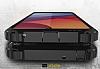 Dafoni Tough Power LG G6 Ultra Koruma Siyah Kılıf - Resim 4