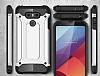 Dafoni Tough Power LG G6 Ultra Koruma Mavi Kılıf - Resim 1