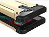 Dafoni Tough Power LG K10 Ultra Koruma Kırmızı Kılıf - Resim 2
