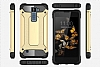 Tough Power LG K8 Ultra Koruma Gold Kılıf - Resim 2