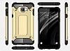 Dafoni Tough Power Samsung Galaxy C5 Pro Ultra Koruma Gold Kılıf - Resim 4