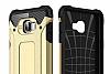 Dafoni Tough Power Samsung Galaxy C5 Pro Ultra Koruma Gold Kılıf - Resim 3
