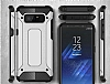 Dafoni Tough Power Samsung Galaxy Note 8 Ultra Koruma Silver Kılıf - Resim 6