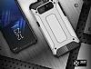 Dafoni Tough Power Samsung Galaxy Note 8 Ultra Koruma Silver Kılıf - Resim 5