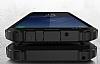 Dafoni Tough Power Samsung Galaxy S8 Plus Ultra Koruma Siyah Kılıf - Resim 6