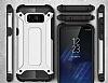 Dafoni Tough Power Samsung Galaxy S8 Plus Ultra Koruma Siyah Kılıf - Resim 1