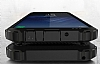 Dafoni Tough Power Samsung Galaxy S8 Ultra Koruma Silver Kılıf - Resim 1