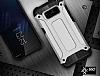 Dafoni Tough Power Samsung Galaxy S8 Ultra Koruma Silver Kılıf - Resim 2