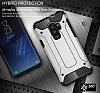 Tough Power Samsung Galaxy S9 Plus Ultra Koruma Mavi Kılıf - Resim 3