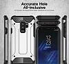 Tough Power Samsung Galaxy S9 Plus Ultra Koruma Mavi Kılıf - Resim 5