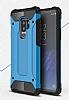 Tough Power Samsung Galaxy S9 Plus Ultra Koruma Mavi Kılıf - Resim 1