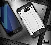 Dafoni Tough Power Asus Zenfone Live ZB501KL Ultra Koruma Rose Gold Kılıf - Resim 3