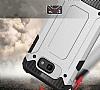 Dafoni Tough Power Asus Zenfone Live ZB501KL Ultra Koruma Kırmızı Kılıf - Resim 1
