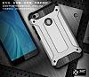 Dafoni Tough Power Xiaomi Redmi Note 5A / 5A Prime Ultra Koruma Silver Kılıf - Resim 2