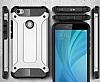 Dafoni Tough Power Xiaomi Redmi Note 5A / 5A Prime Ultra Koruma Silver Kılıf - Resim 4