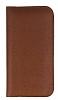 Dafoni Universal Large Cüzdan Kahverengi Gerçek Deri Kılıf - Resim 4
