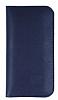 Dafoni Universal Large Cüzdan Lacivert Gerçek Deri Kılıf - Resim 3