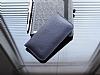 Dafoni Universal Large Cüzdan Lacivert Gerçek Deri Kılıf - Resim 1