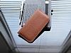 Dafoni Universal Large Cüzdan Kahverengi Gerçek Deri Kılıf - Resim 1