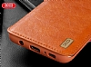 XO Samsung Galaxy Note 8 Cüzdanlı İnce Yan Kapaklı Kahverengi Deri Kılıf - Resim 4