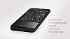DZGOGO iPhone 7 / 8 Işıltılı Siyah Deri Kılıf - Resim 6