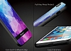 DZGOGO iPhone 7 Plus / 8 Plus Silikon Kenarlı Mavi Rubber Kılıf - Resim 6